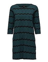 Ladies dress, Laineet - BLUE