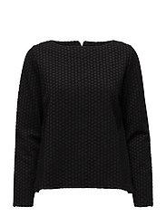 Ladies shirt, Hyrrä - BLACK