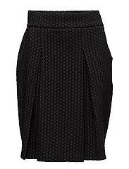 Ladies skirt, Hyrrä - BLACK