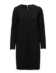 Ladies dress, Hyrrä - BLACK