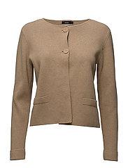 Ladies knit jacket, Milano - BEIGE