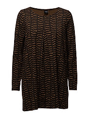 Ladies tunic, Pouta - BROWN
