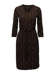 Ladies dress, Pouta - BROWN