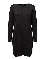 Ladies dress, Villis - MELANGED GRAPHITE