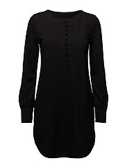 Ladies tunic, Nappi - BLACK