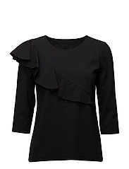 Ladies shirt, Berlin - BLACK