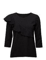 Ladies shirt, Berlin - BLACK