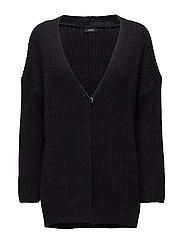 Ladies knit cardigan, Kerä - BLACK