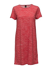 Ladies big shirt, Laku - RED