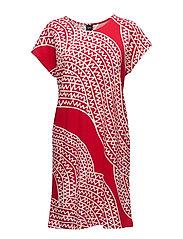 Ladies big shirt, Pohjola - RED