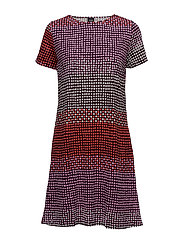 Ladies big shirt, Usva - RED