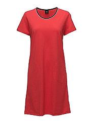 Ladies big shirt, Loma - RED