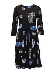 Ladies dress, Piha - BLACK