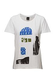 Ladies t-shirt, Pihalla - WHITE