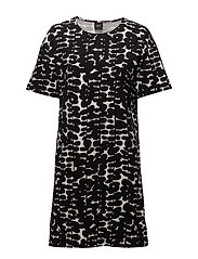 Ladies big shirt, Pallolehdet - BLACK