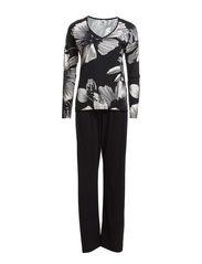 Ladies pyjamas, Kaunis yö - black