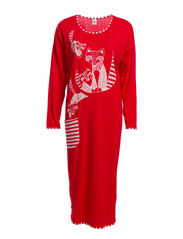 Ladies long dress, Foxtrot - red