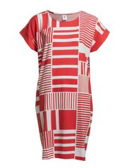 Ladies big shirt, Kippari - red