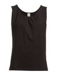 Ladies top, sleeveless - black