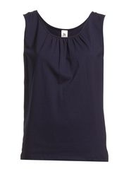 Ladies top, sleeveless - dark blue