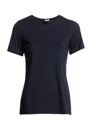 Ladies t-shirt, 1/2 sleeve - dark blue