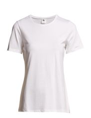 Ladies t-shirt, 1/2 sleeve - white