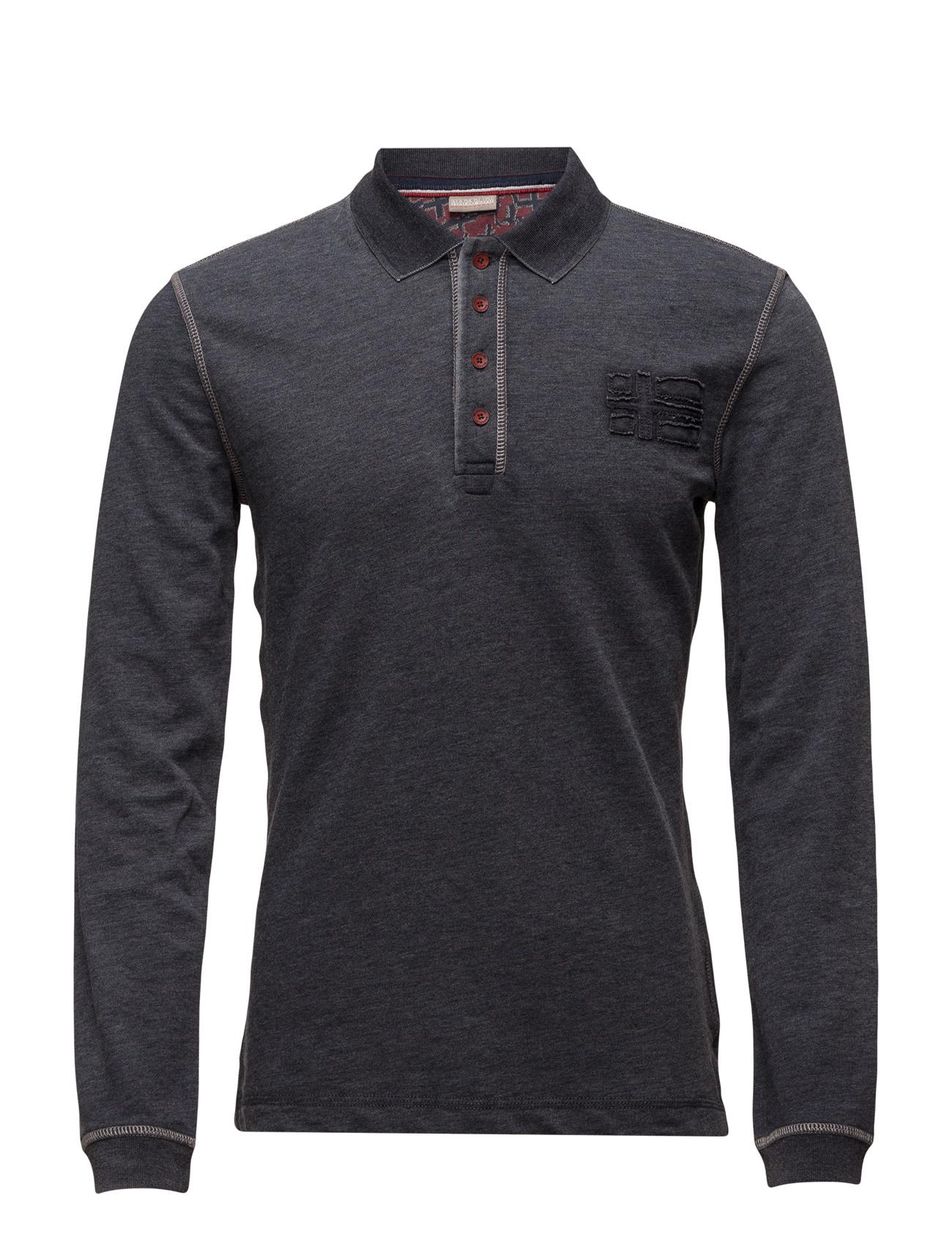 Etij Napapijri Længærmede polo t-shirts til Mænd i