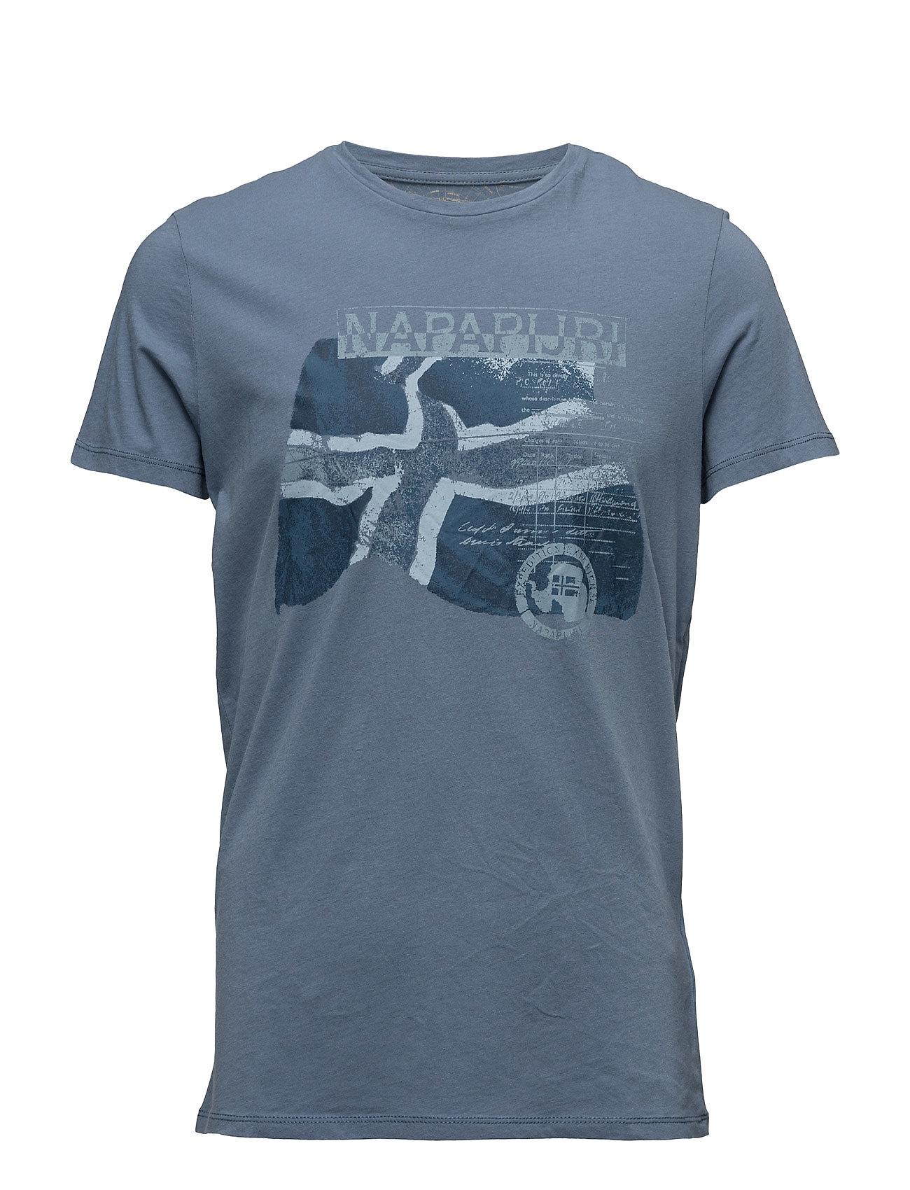 Sinley Napapijri T-shirts til Mænd i