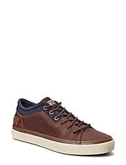 Jakob low lace shoe - dark brown