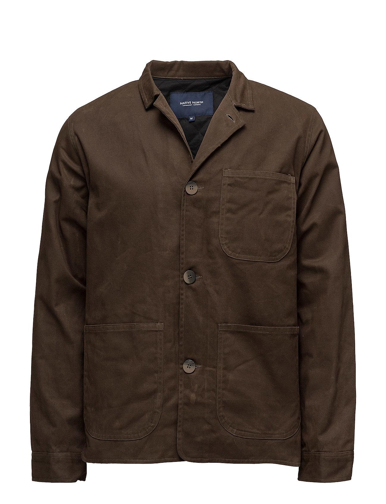 native north Waxed utility jacket på boozt.com dk