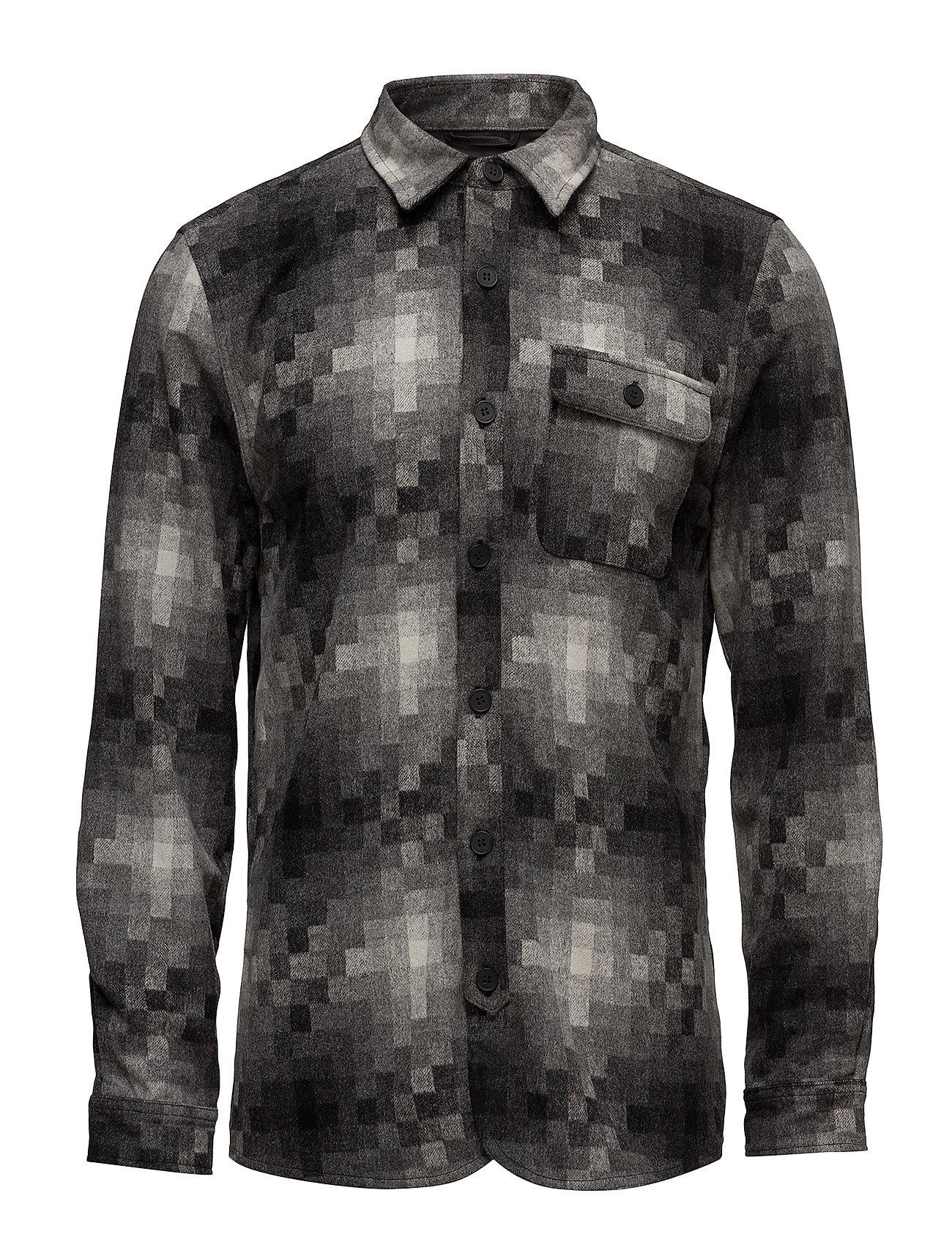 native north – Pixels wool overshirt på boozt.com dk