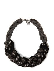 Bella Statment Necklace - Black