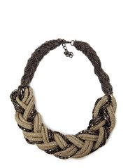 Bella Statment Necklace - Cream