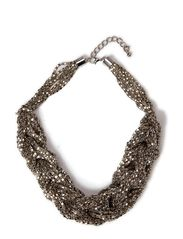 Ditte Statment Necklace - Silver