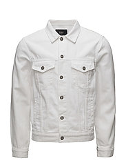 Denim Jacket - SPIKE ISLAND WHITE