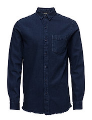 Enkel Shirt - INDIGO DENIM