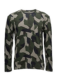 Bass Long Sleeve Tee - DENISON CAMO