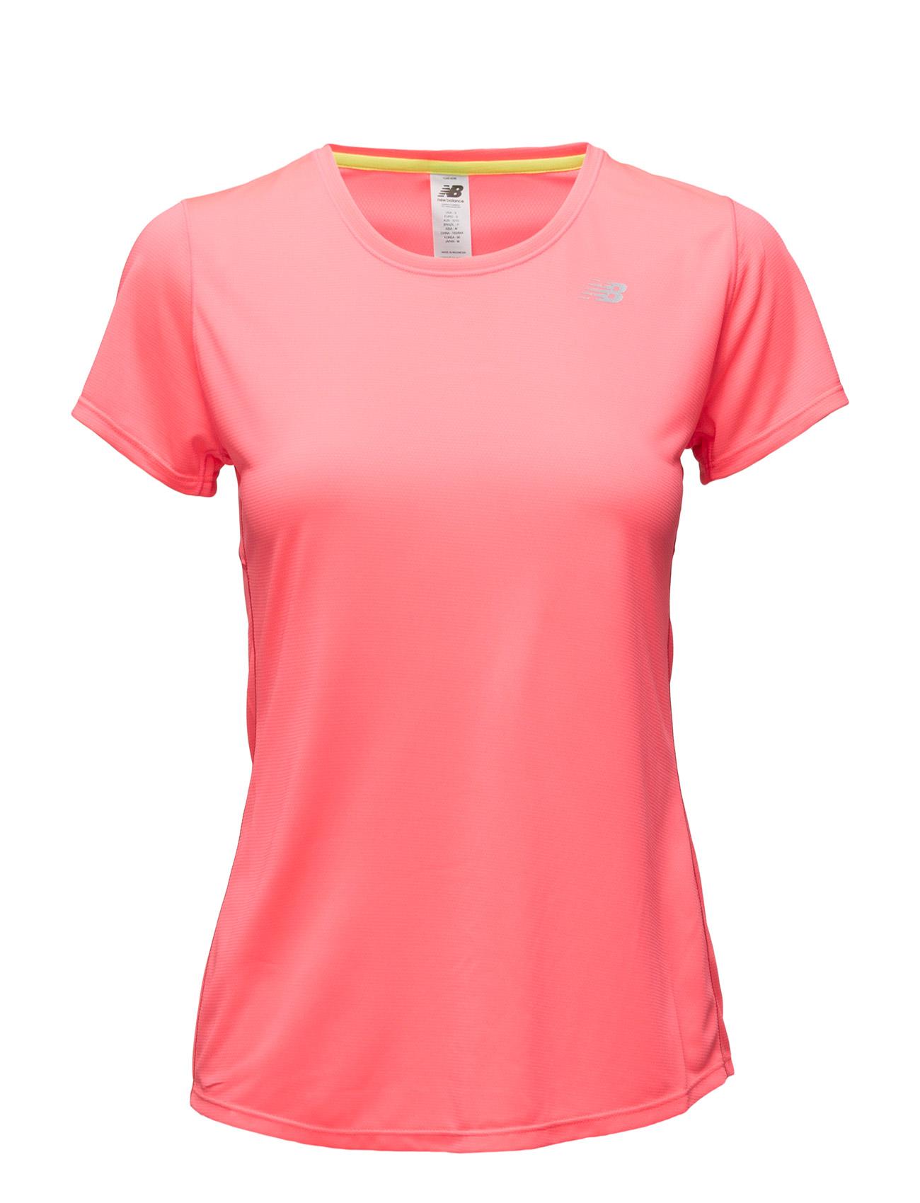Accelerate Short Sleeve New Balance Løbe t-shirts til Kvinder i