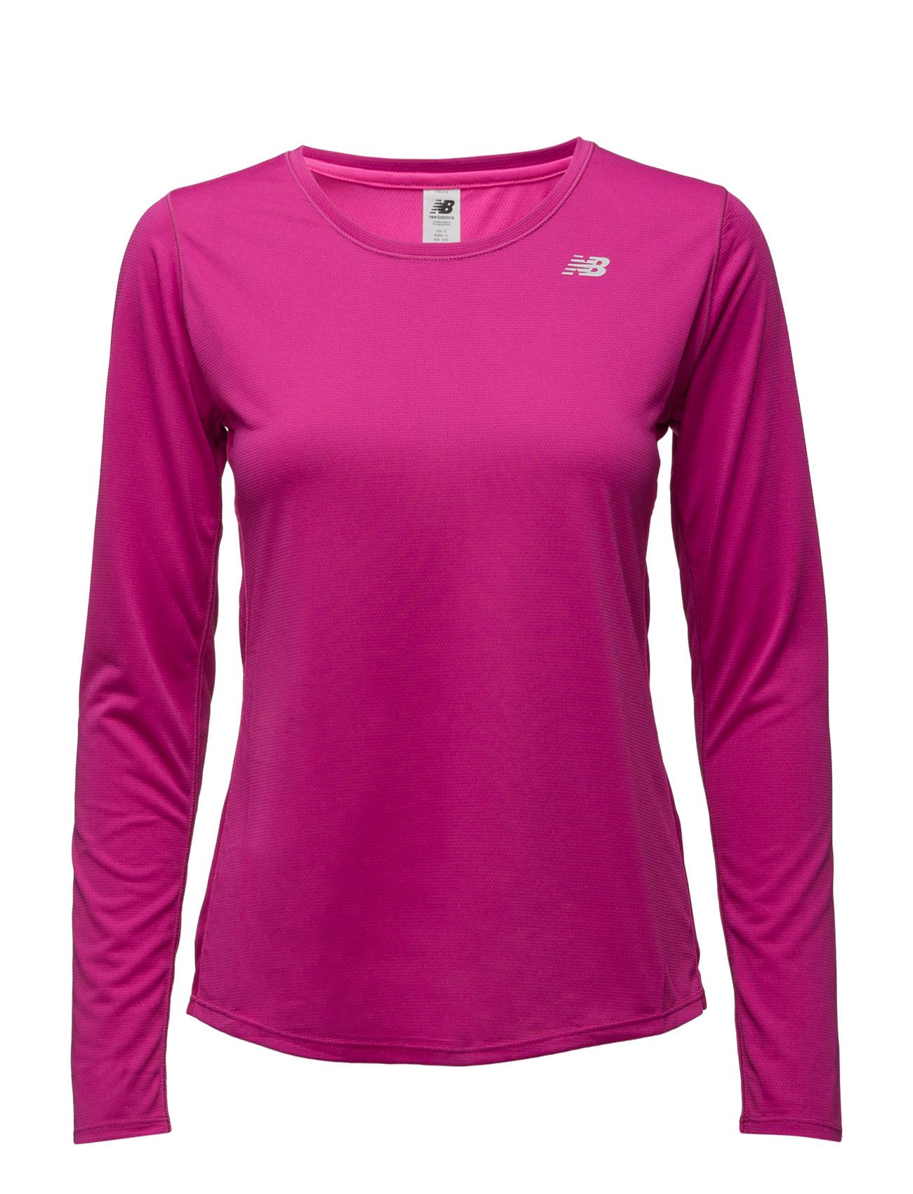 Accelerate Long Sleeve New Balance Sports toppe til Kvinder i