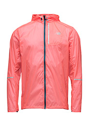 LITE PACKABLE JACKET - BRIGHT CHERRY