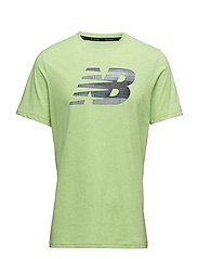HEATHER TECH SS NB GRAPHIC - ENERGY LIME