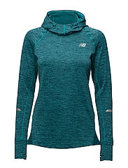 NB HEAT HOODY - PISCES HEATHER