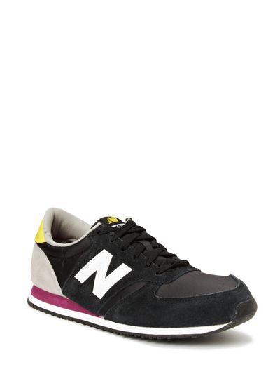 New Balance U420 Black Yellow New Balance U420