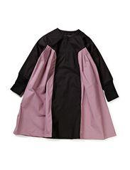 New Generals - Pure Long Sleeve Pleat Side Dress