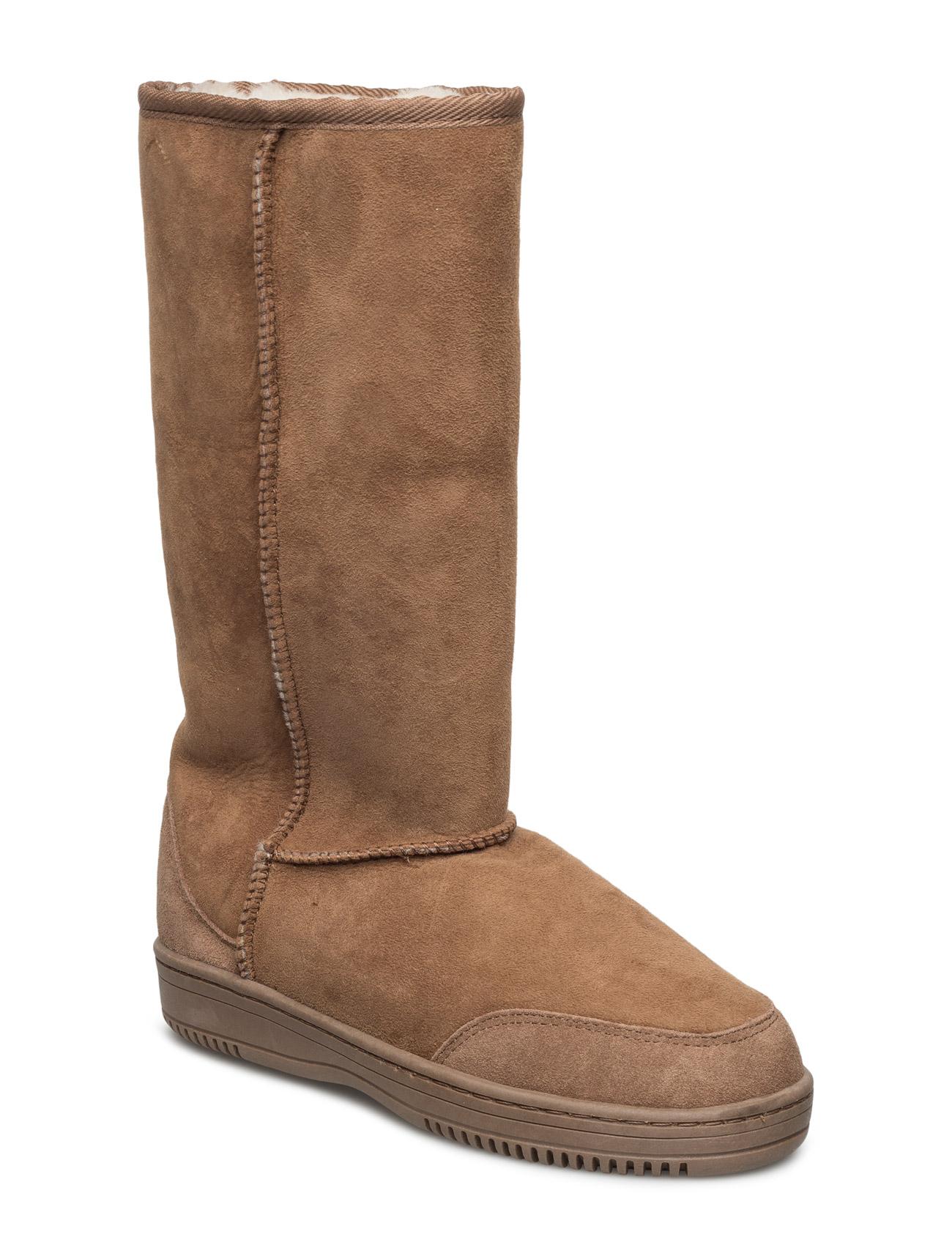 Standard New Zealand Boots Støvler til Kvinder i Mørkegrå