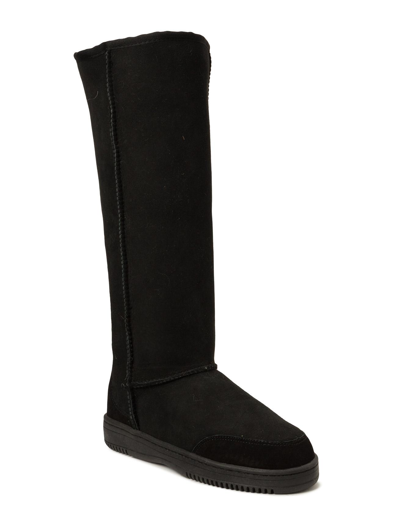 Tall New Zealand Boots Støvler til Damer i Sort