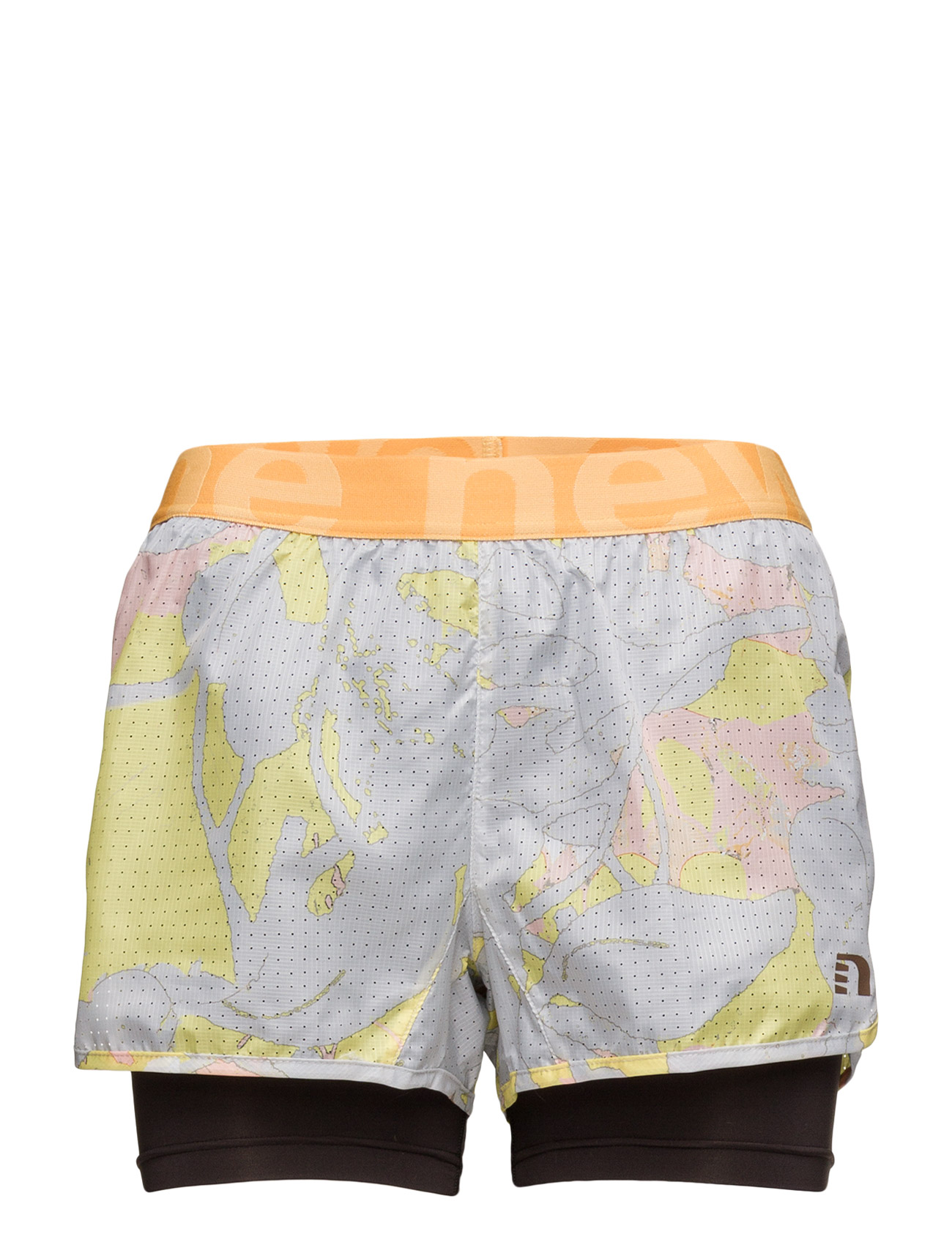 Imotion Printed 2-Lay Shorts Newline Træningsshorts til Damer i