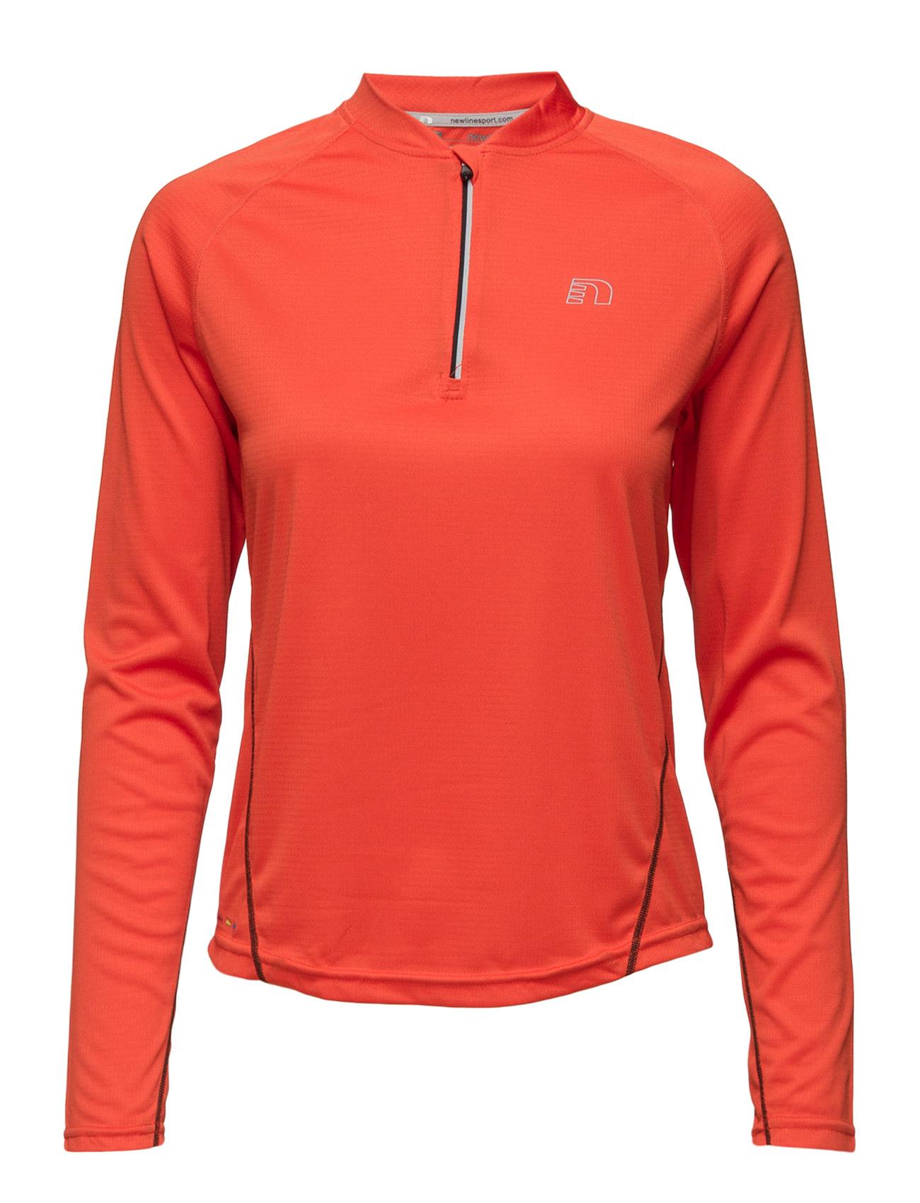Base Zip Shirt Newline Sports toppe til Kvinder i