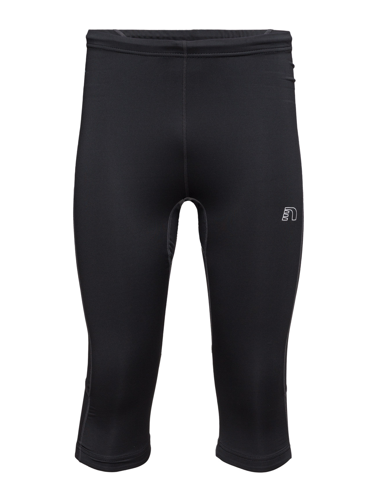 Base Dry N Comfort Knee Tights Newline Løbe tights til Mænd i Sort