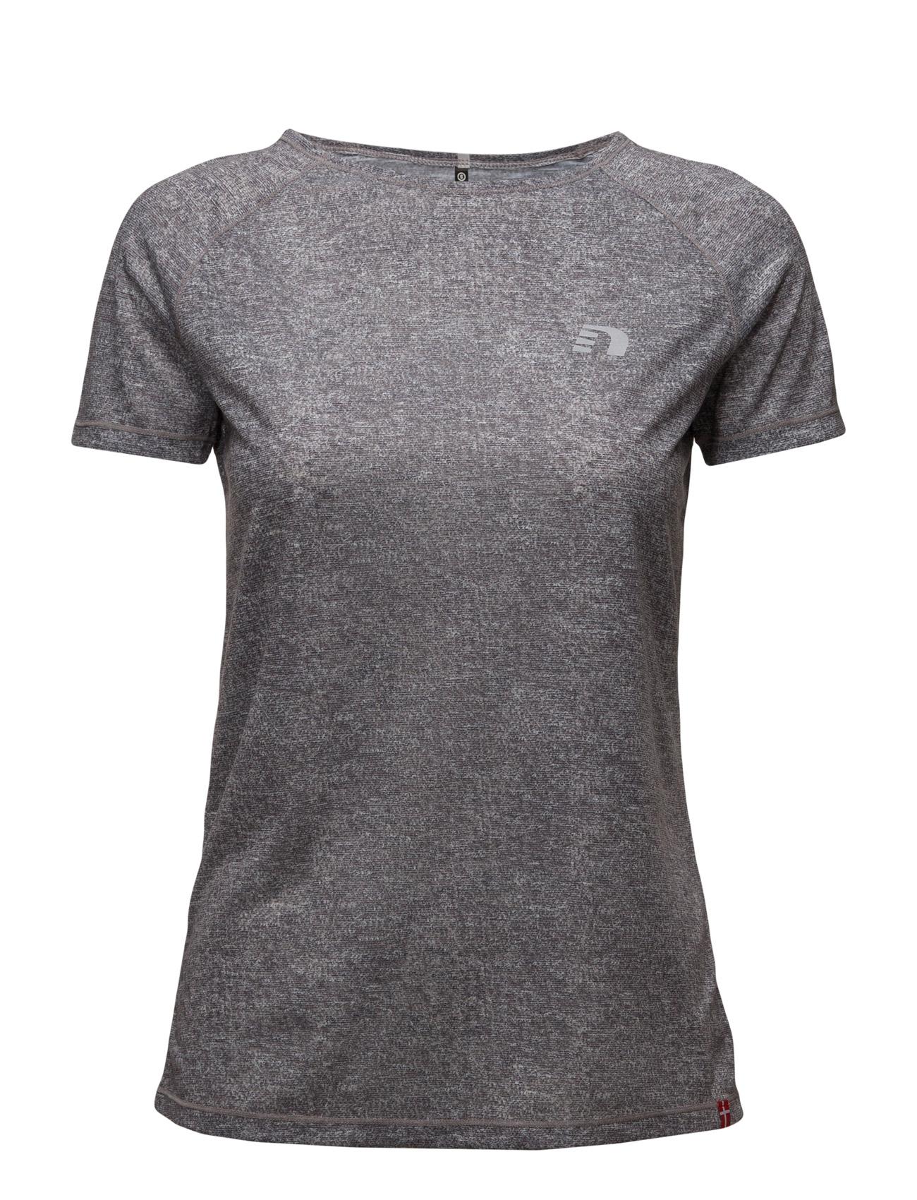Imotion Heather Tee Newline Løbe t-shirts til Damer i Asfalt